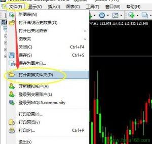 mt4安装交易系统说明图例一